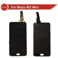 Original para meizu m2 mini pantalla lcd con pantalla táctil digitalizador reemplazo de cristal del panel para meizu meilan 2