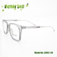 Better Self L3052 Full Rim Clear Glasses Hot Sales Eyeglasses Retro Korean Art Eyewear Optical Frame Vintage Square Eye