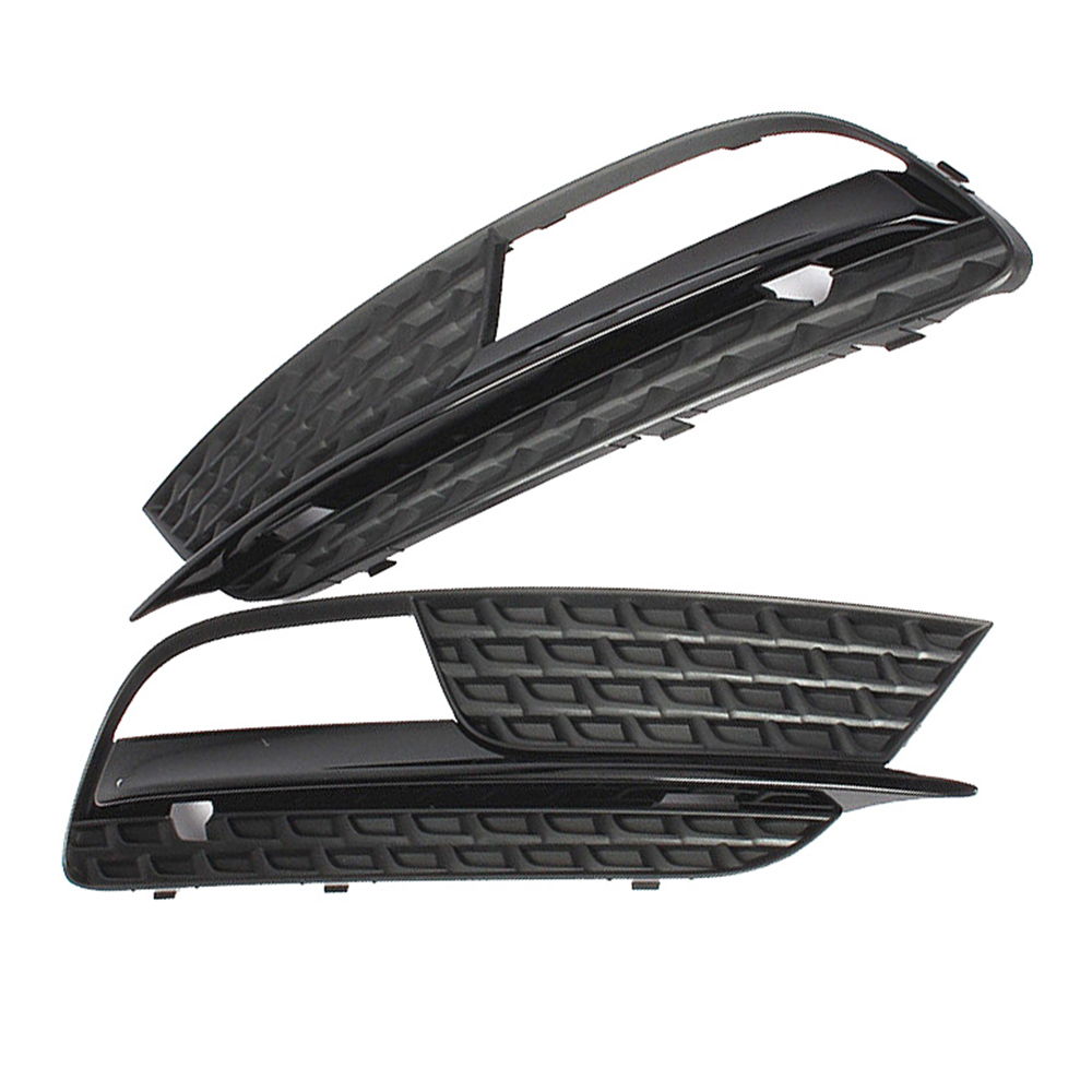 Front Left Right Bumper Lower Fog Light Lamp Grilles Cover For AUDI A5 12 16 Not