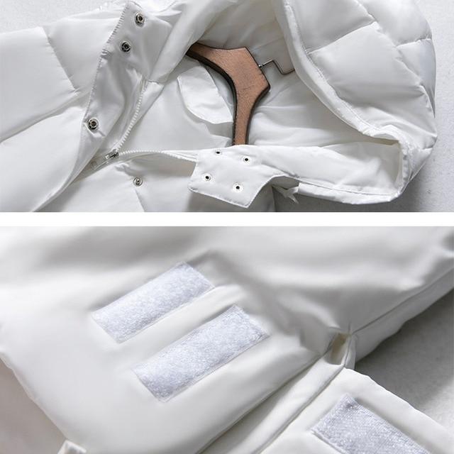 Voobuyla Plus Size 5XL Long Vest Women Sleeveless Jacket Down Cotton Warm Vest Mujer 2018 Autumn Winter Hoodies Waistcoat Female 5