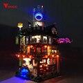 Led licht forLepin06066 Ninjago City Master von Spinjitzu Baustein Ziegel Toy70620 Pädagogisches Spielzeug Geburtstag Geschenk (nur licht
