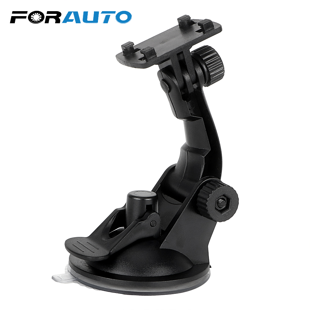FORAUTO 360 Degrees Steering Phone Holder Adjustable Windshield Bracket Auto Mounts For Car GPS Recorder DVR Camera Car Styling