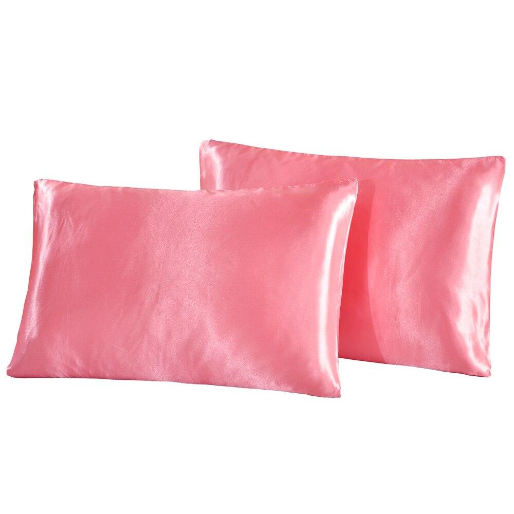 KISS QUEEN pillow case satin silk pillowcase bed pillow