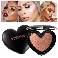 Uroda makijaż Shimmer wyróżnienia kosmetyki do twarzy puder prasowany podkreślić paleta rozjaśnić skóry konturowania Iluminador Maquiagem