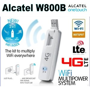 Alcatel W800b Onetouch Link LTE 4G Internet Key support FDD1800 2600