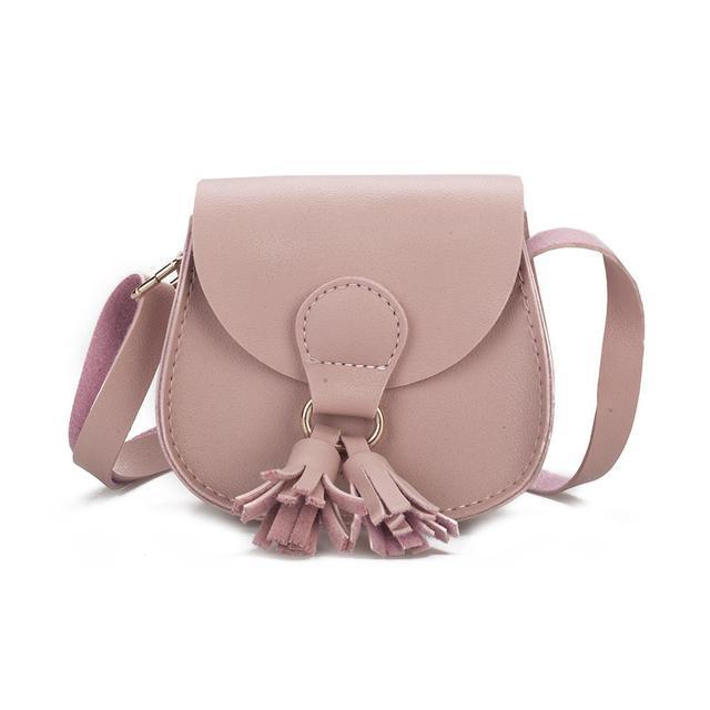 PinShang Children Hanabag Fashion Wallet Mini Satchel Portable Bag with Tassel Single-shoulder Bag Fashion Bags for Children 30