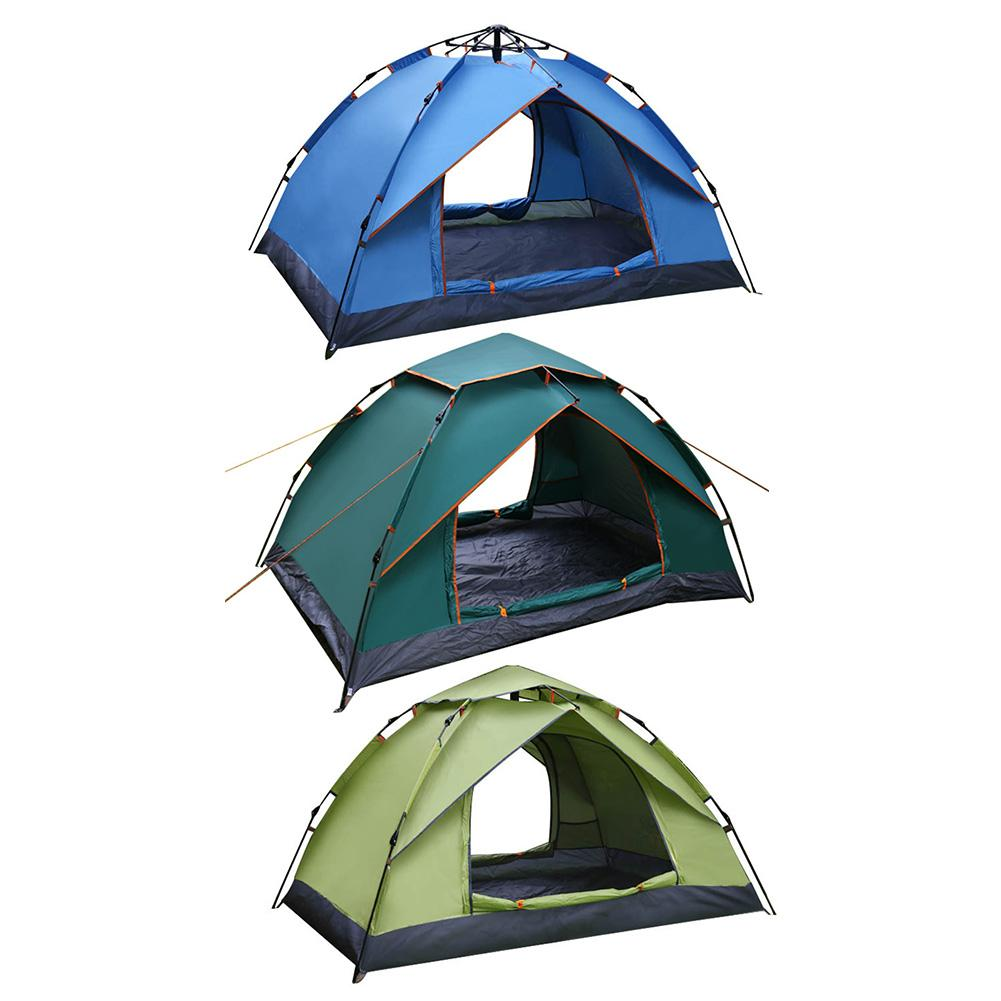 Two-person Automatic Tent - Quick Open Anti-sun Waterproof Anti-mosquito Fake Two-layer Tent For Beach And Camping TentTwo-person Automatic Tent - Quick Open Anti-sun Waterproof Anti-mosquito Fake Two-layer Tent For Beach And Camping Tent