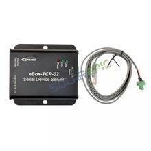 EBox-TCP-02 последовательный порт сетевой сервер использовать для Epever Солнечный контроллер Солнечный инвертор достичь связи Ethernet