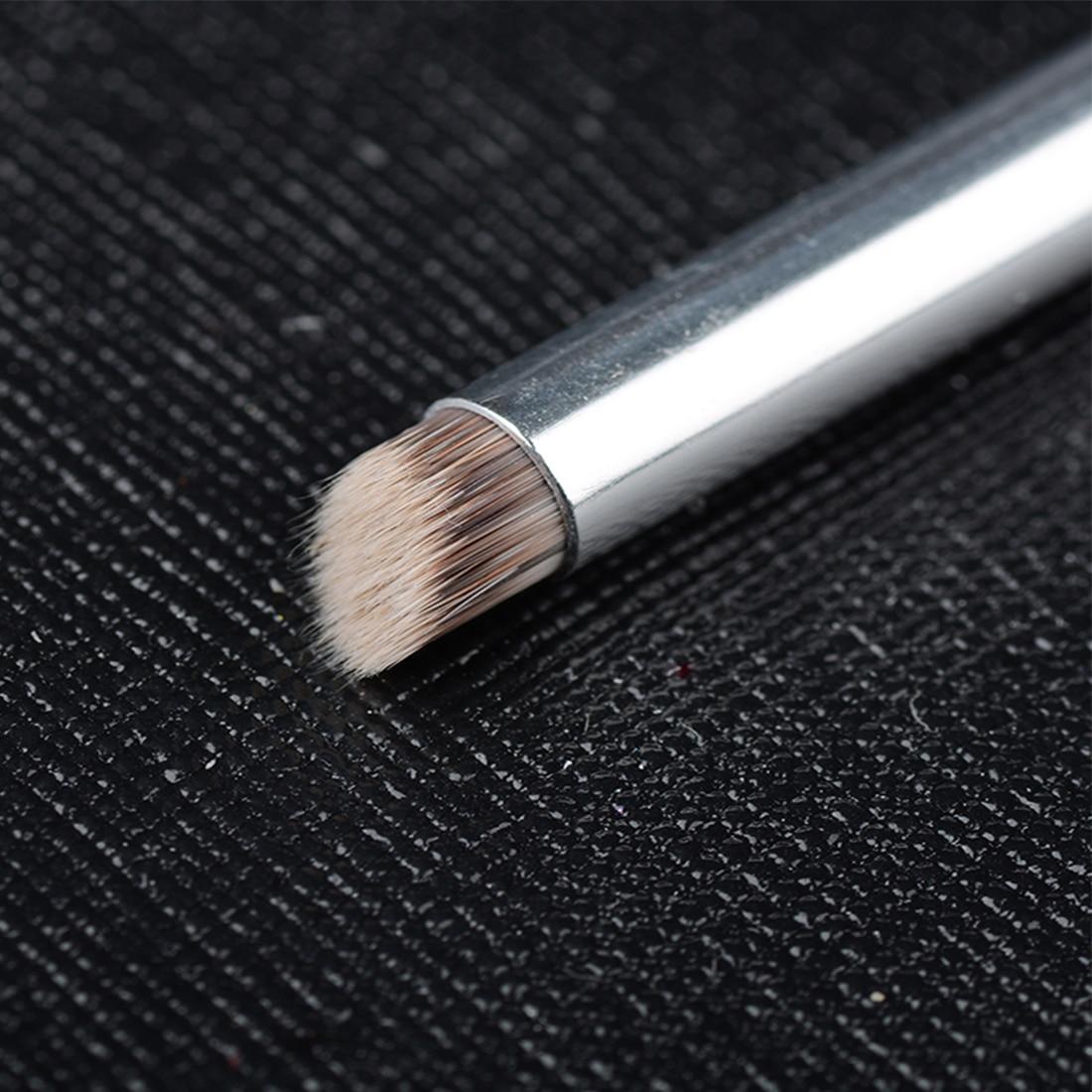 Manicure Painting Shanding Pen DIY Salon Drawing Tool Dark Red Wood Handle Nylon Hair Ombre Gradient Nail Art Gel Brush