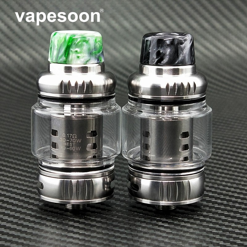 Original VapeSoon VS12 8ML TANK 0.17ohm Prince M4 Coil VS TFV12 Prince Atomizer TANK Retail Package vapesoon b1 subohm tank atomizer 6ml 510 thread 0 4ohm q2 coil atomizer tank vs tfv8 baby tfv12 top filling 22mm