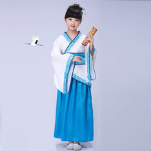 Chinese style Hanfu costume boy girl cosplay stage performance