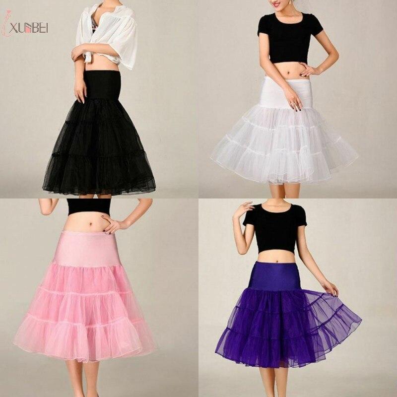 sottogonna Tulle Bridal Wedding Petticoat Crinoline Short Skirt Rockabilly Tutu Underskirt Jupon Mariage Wedding Accessories
