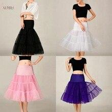 sottogonna Tulle Bridal Wedding Petticoat Crinoline Short Skirt Rockabilly Tutu Underskirt Jupon Mariage Accessories