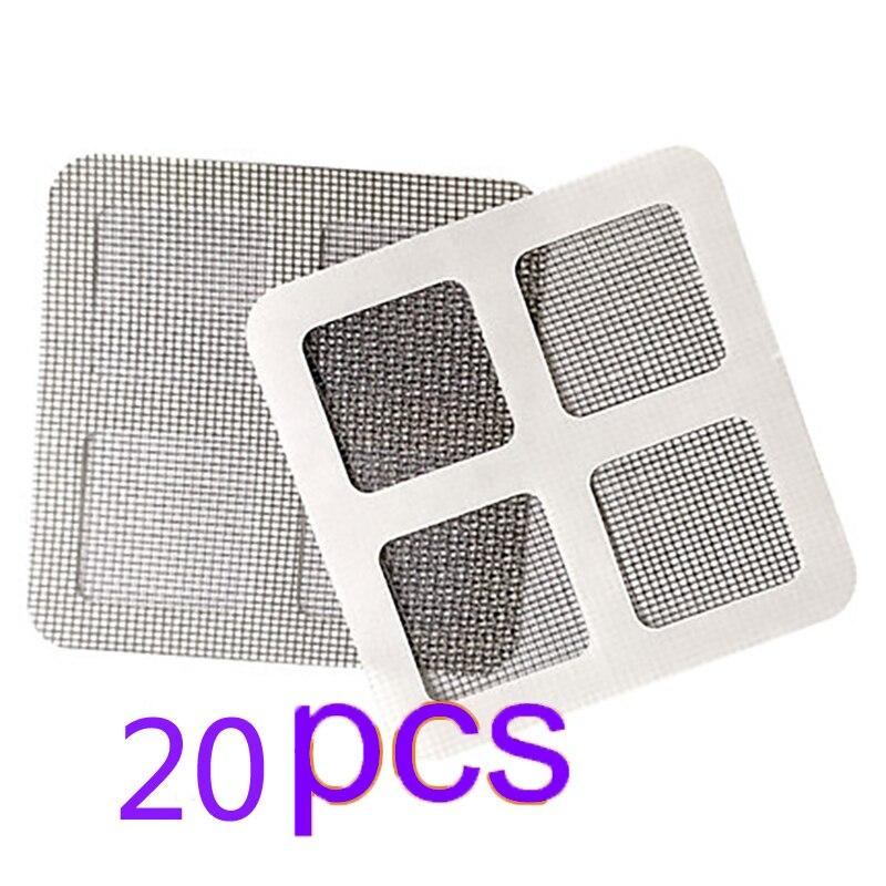 5pcs/20pcs Practical Tool Windows Door Screen Repairing Patch Self-Adhesive Net Mesh Screen Repair Stickers