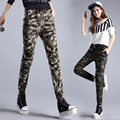 Women Military Style Camouflage Jogger Pants Ladies Casual Joggers New 2017 Camo Print Pants Ankle Length Free Shipping