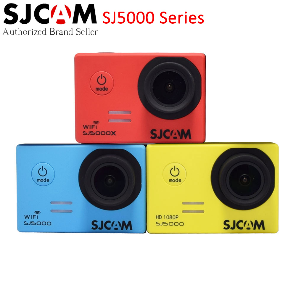 SJCAM SJ5000 Series Original Action Camera Waterproof 30m Diving Helmet SJ5000/SJ5000 Wifi/SJ5000X 4K Elite Outdoor Sport DV