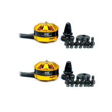 2 x DYS Brushless Motor 2204 2400KV for RC ZMR QAV250 Quadcopter Multirotor