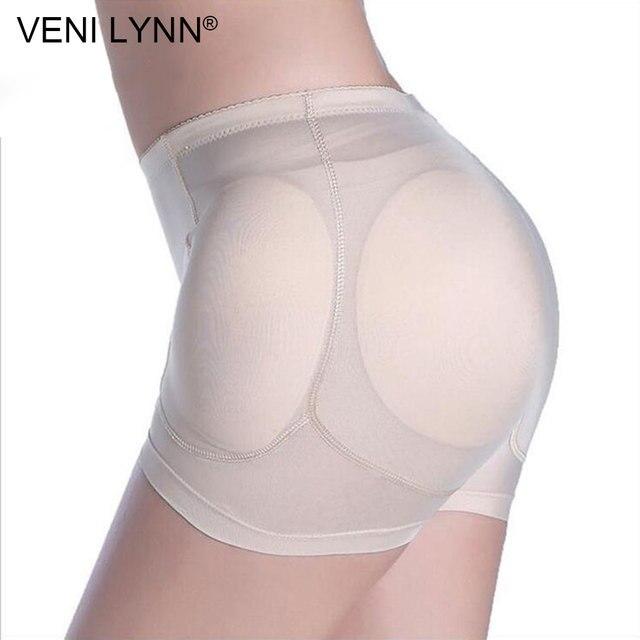 VENI LYNN 4 ฟองน้ำแทรกสะโพก Enhancer Butt Lifter เบาะปลอม Butt Lifter Hip Pads สวมใส่ผู้หญิงกางเกงเบาะกางเกง