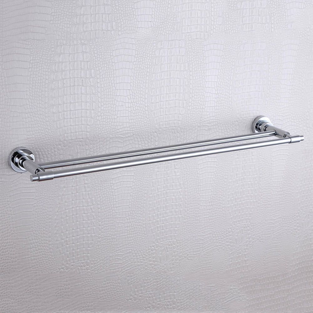 compare prices on swivel towel bar online shoppingbuy low price  - double towel bar simple modern  stainless steel and copper swivel wallmounted chrome bath room
