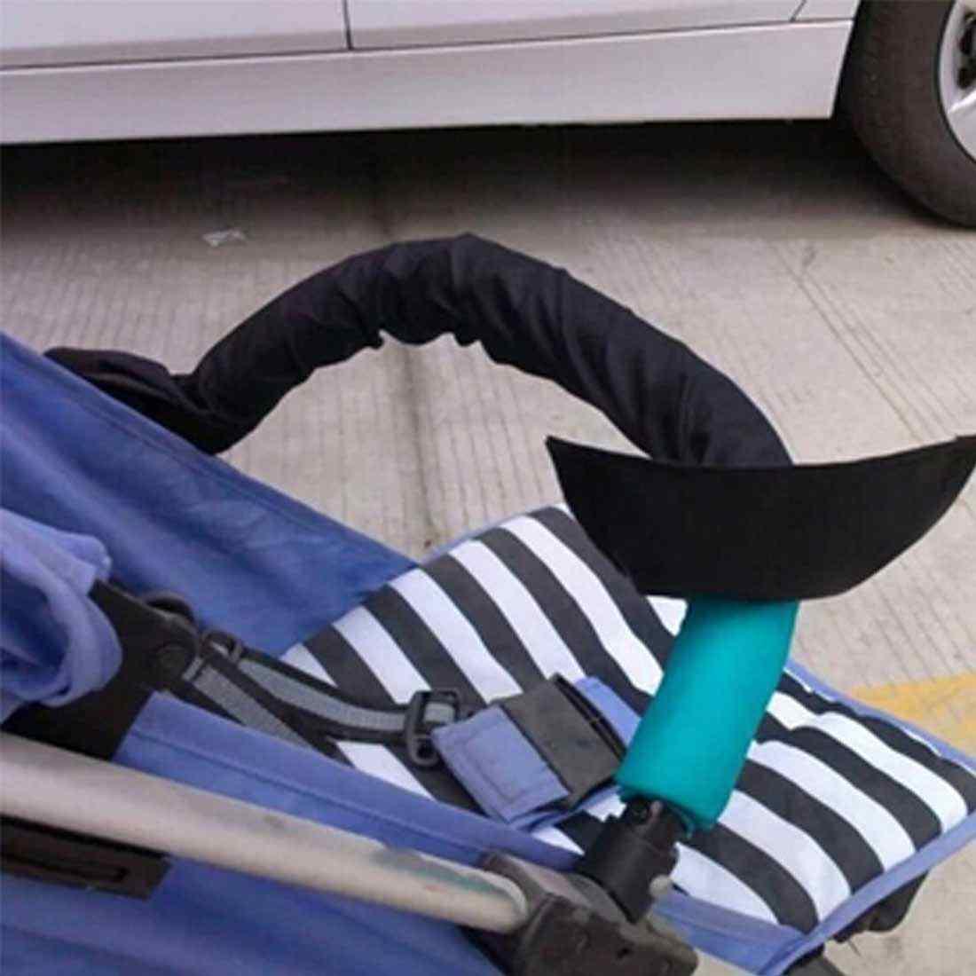 ทั่วไปทำความสะอาดได้สเตอริโอรถเข็นเด็กแขนรถเข็นเด็กอุปกรณ์เสริมพนักพิงกรณีผ้ารถเข็นเด็กทารก Access