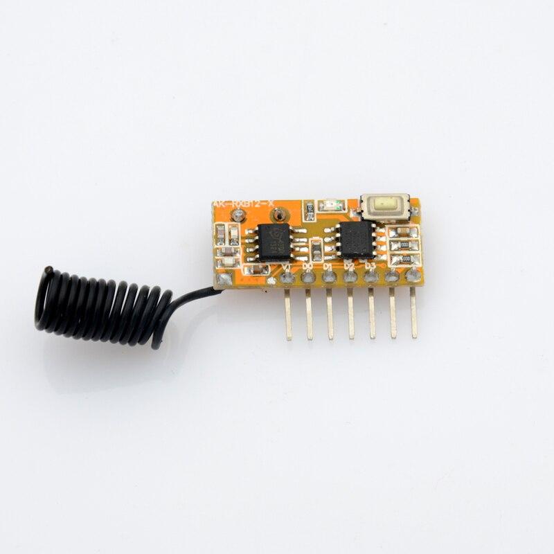 ASK Super-heterodyne rf transmitter and receiver module 315mhz/433.92mhz data transmitter and receiver module radio receiver