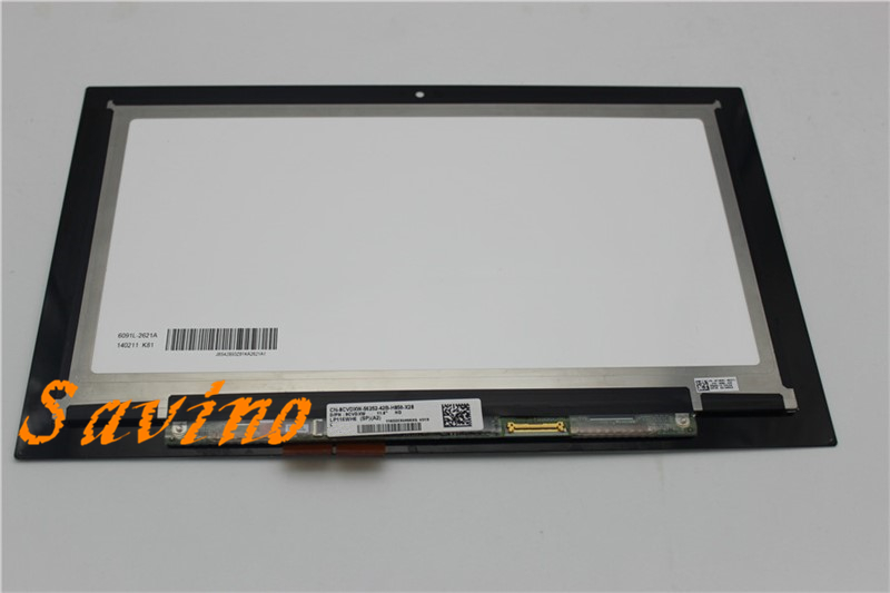 New 11.6 LCD Touch screen Glass Digitizer Assembly For Dell Inspiron 11 3147 3148 3000 3157 3158 3152 3153 i3153 LP116WH6 SPA2 new 11 6 for sony vaio pro 11 touch screen digitizer assembly lcd vvx11f009g10g00 1920 1080