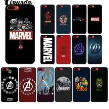 Yinuoda Deadpool iron Man Marvel Avengers KingKong Star Wars Phone Cover for iPhone X XS MAX 6 6s 7 7plus 8 8Plus 5 5S SE XR