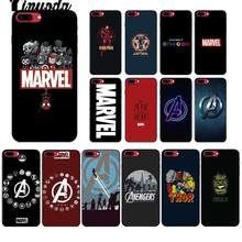 Yinuoda Deadpool iron Man Marvel Avengers KingKong Star Wars Phone Cover for iPhone X XS MAX 6 6s 7 7plus 8 8Plus 5 5S SE XR(China)