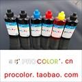 6 color pgi470 470 tinta corante tinta pigmentada 471 cli-471 gy kit de recarga para canon pixma mg mg7740 7740 ciss cartucho de tinta impressora