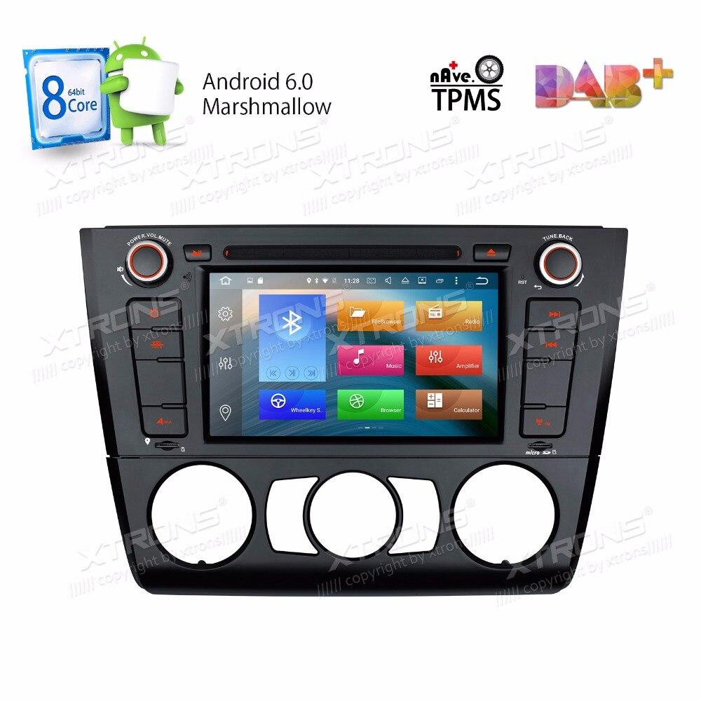 Android 6.0 OS 7 Octa Core Car DVD for BMW E81 2007 2012 & E82 2007 2013 & E87 2004 2011 & E88 2007 2014 with 2GB RAM 32GB ROM