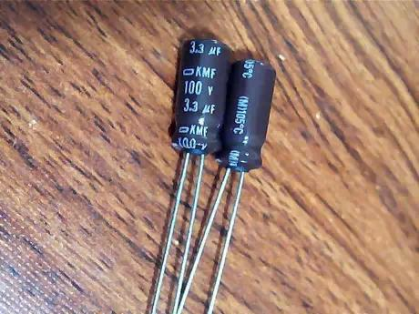 Electrolytic Capacitor 100V 3.3UF Capacitor