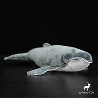 Super soft dolls doll great whale plush toy plush ocean animal High quality birthday gift fish