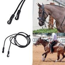 Rey trenzado concurso/lazo Riendas de montar a caballo equipo Halter caballo herradura caballo ecuestre accesorio