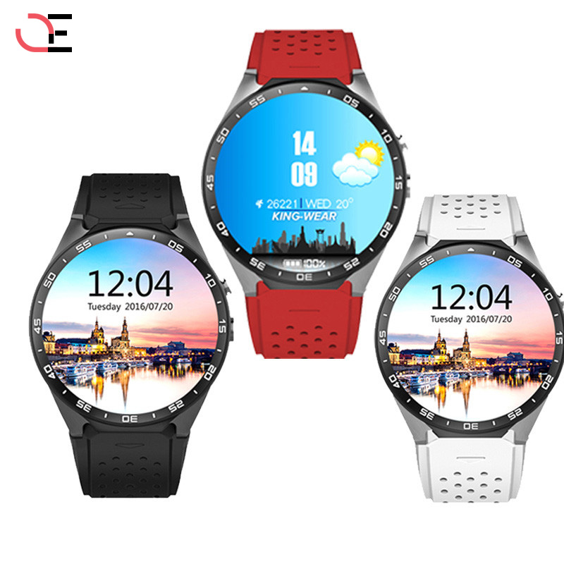 2018 Hot kingwear Kw88 android 5.1 OS Smart watch 1.39 inch 400*400 SmartWatch phone support 3G wifi nano SIM WCDMA Heart Rate hot selling kw88 smart watch android bluetooth smartwatch phone 1 39 inch support 3g wifi heart rate for mobile kw88 smart watch