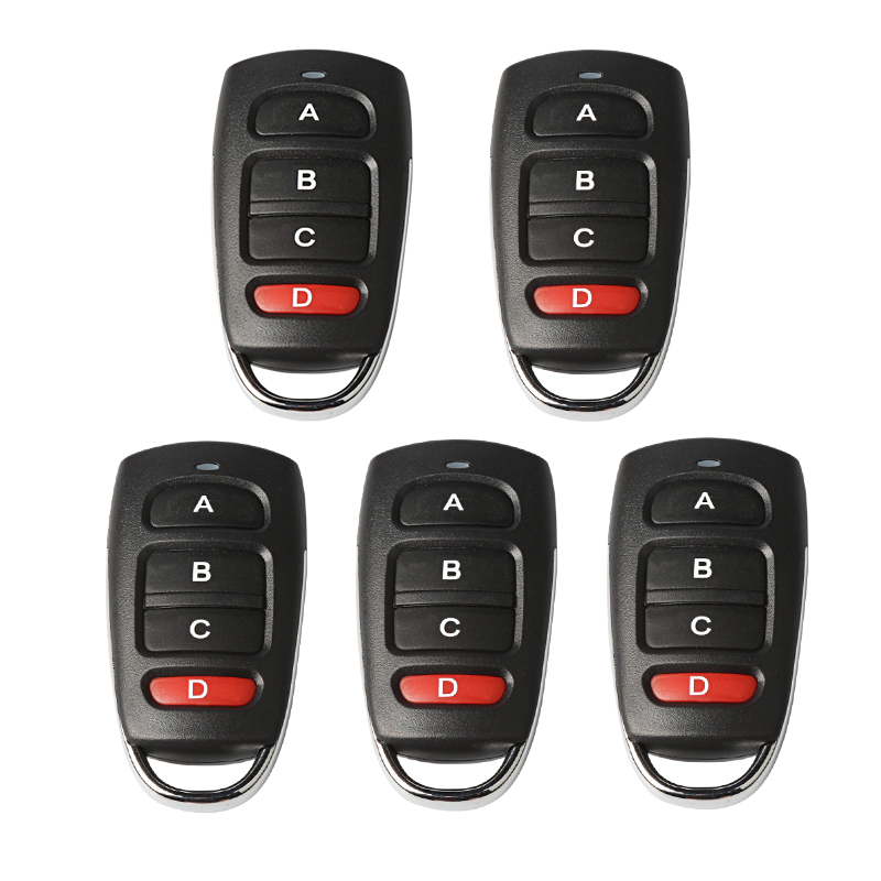 433MHZ Garage Door Opener Auto Remote Control Duplicator Clone Car Universal Key