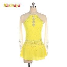Платье для фигурного катания nasinaya индивидуальные спортивные