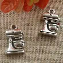 180 piezas plata tibetana licuadora encantos 16x11mm #2077