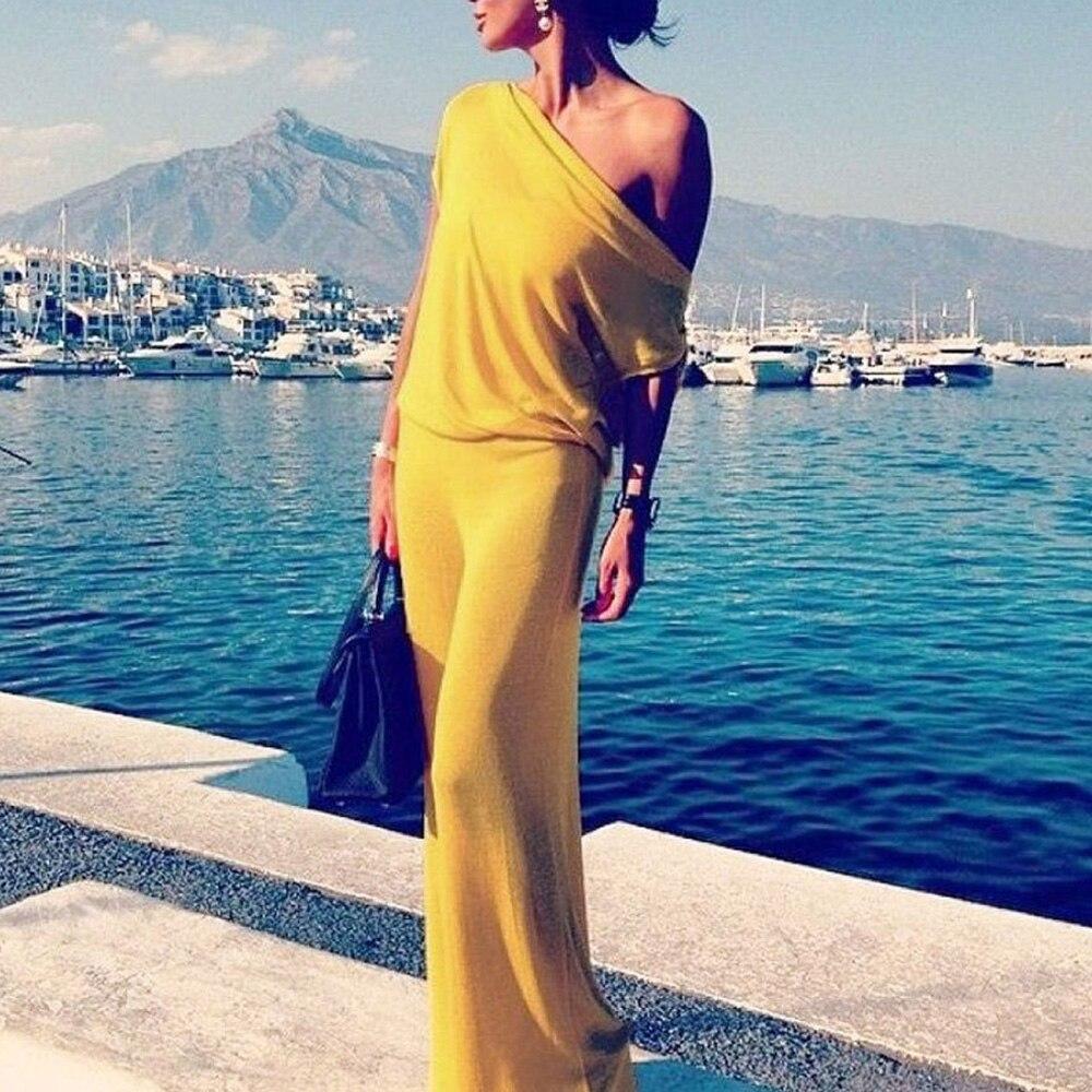VOA Silk A Line Pleated Dresses Women Maxi Long Dress Plus Size 5XL ...