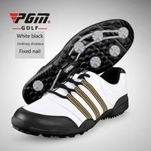 PGM обувь для гольфа мужская Сверхлегкая водонепроницаемая Спортивная дышащая обувь противоскользящие кроссовки для мужчин большие размеры