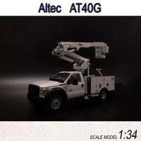 Редкие, литая игрушка модель 1:34 весы Altec AT40G IMPEX/SUNR ведро грузовых автомобилей сплава модель для подарка, коллекция, украшения