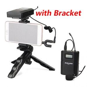 Image 2 - Mailada professionnel UHF système de Microphone sans fil Mini revers casque micro récepteur émetteur pour enseigner la Lecture de la parole