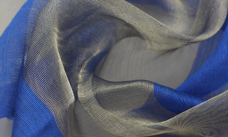 Solid Color Sheer Silk Scarf | Lightweight Scarves | Up to 60% Off Now