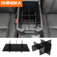 SHINEKA-reposabrazos Interior modificado para coche, caja de almacenamiento para piloto, accesorios de partición multifunción para Toyota 4Runner 2017 UP
