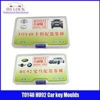 TOY48& HU92 car key moulds for key moulding Car Key Profile Modeling locksmith tools