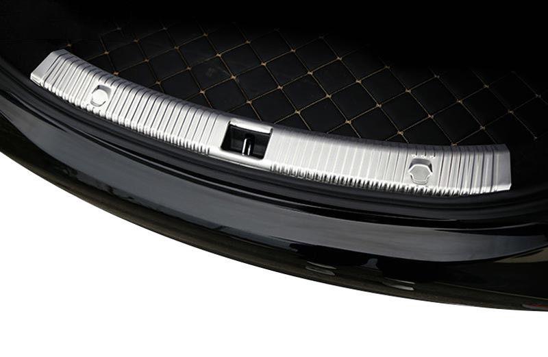 Stainless Steel Interior & Exterior Rear Bumper Plate Protector Trim For Mercedes Benz 2016 2017 E Class W213 E200 E300 цена и фото