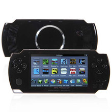 4.3 inch 4GB PMP Handheld Game Player Mp3 MP4 MP5 TFT LCD Color Screen Game Player/ Game Console with Camera and TV-OUT