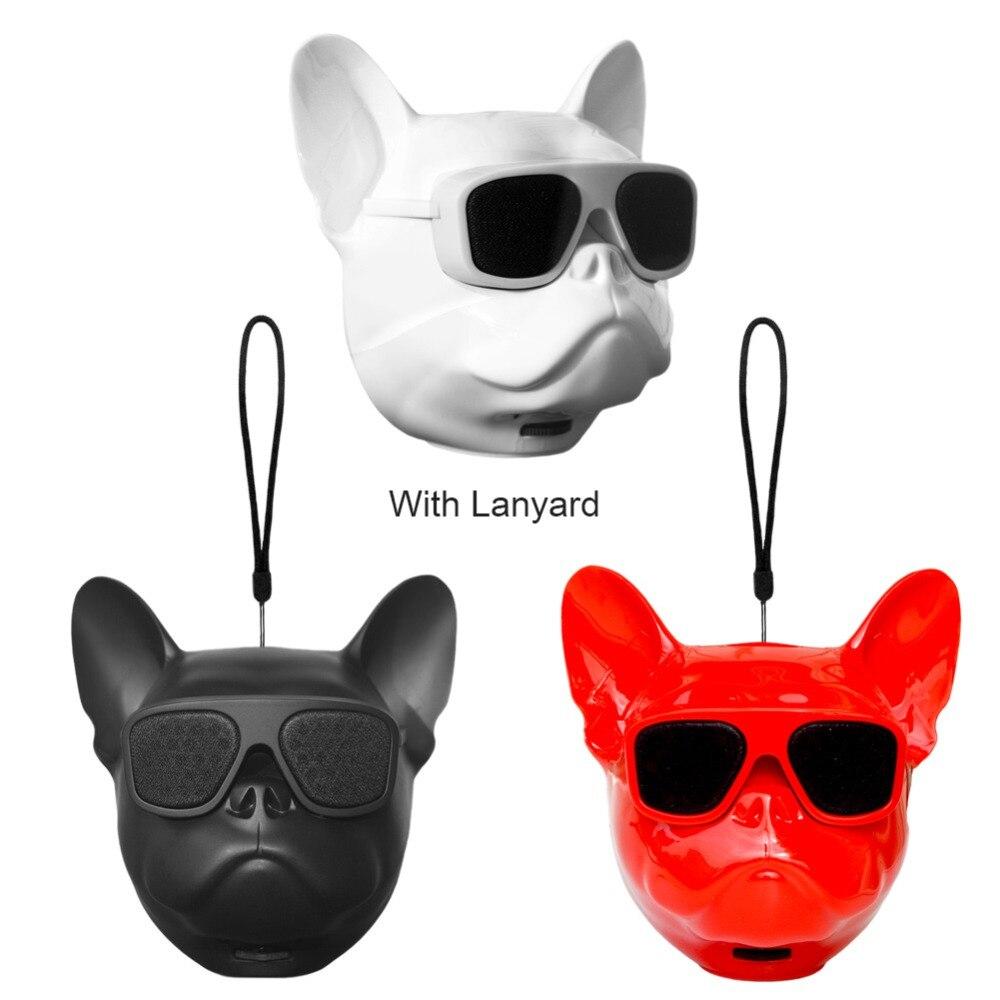 Latest Aerobull Nano Wireless Bluetooth Speaker MINI Bulldog Bluetooth Speaker Outdoor Portable TF HIFI Bass Room Decoration 5