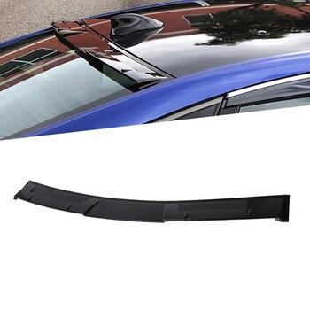 1 PCS Voor Honda Accord 10th 2018 ABS Rear Window Visor Dak Spoiler Wings Auto Deel Zwarte Kleur Auto accessroies