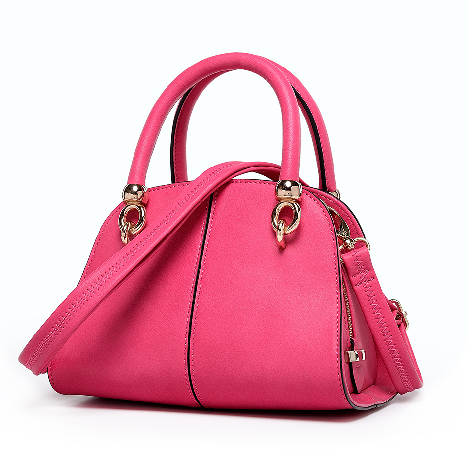 bf9febca4cba Latest Fashion ladies handbag China wholesale rose red handbag-in Shoulder  Bags from Luggage   Bags on Aliexpress.com