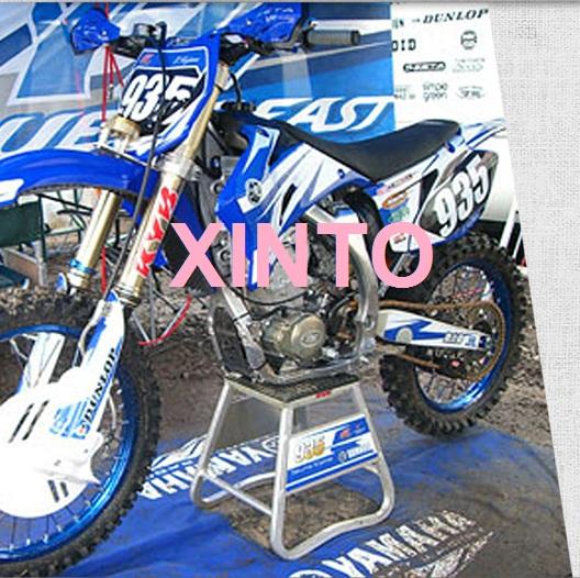 utilizado para reparar motos todoterreno taburete de aparcamiento hidr/áulico Taburete de reparaci/ón de la plataforma de elevaci/ón del moto